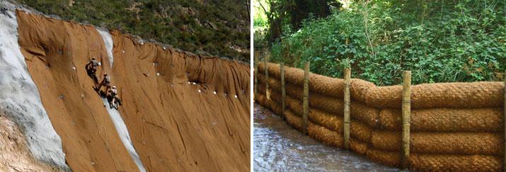 Sistemas para el control de la erosión