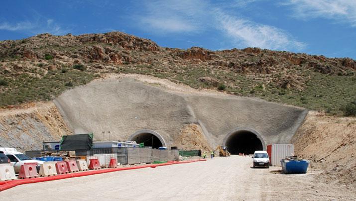 Geocompuestos drenantes en túneles