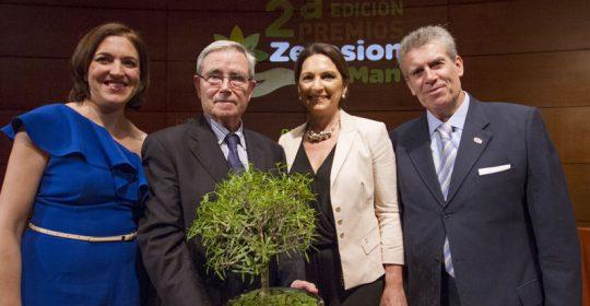 Entrega el premio Zerosion 2015