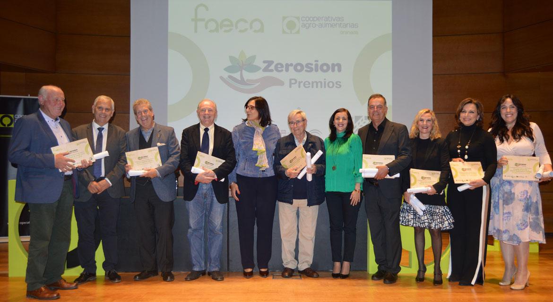 Premio Zerosion 2018 en su V Edición
