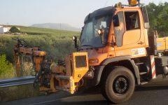 Desbroce mecánico y limpieza en carreteras