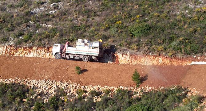 Tratamiento de terraplenes en pistas forestales