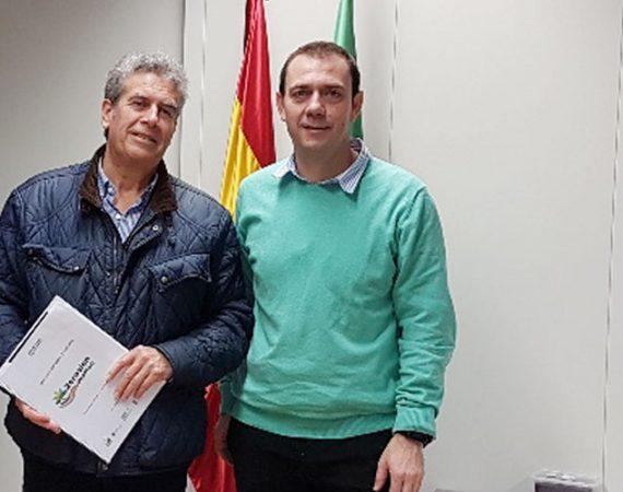 Valentín Contreras y Manuel García Cerezo